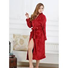 robes de chambre femme polaire robe de chambre hiver cheap jeanamd polaire sortez couvert la robe