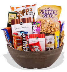 junk food basket gift baskets baton florist billy heroman s