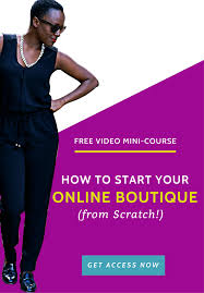 boutique online how to start an online boutique free checklist pdf