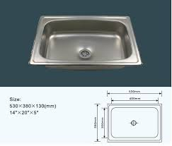 Cheap Philippines   Single Bowl Stainless Steel Kitchen Sink - Stainless steel kitchen sinks cheap