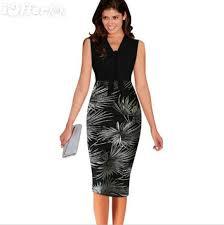 new women u0027s white black plaid dress slim ol dresses 587 for sale
