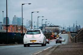 nissan leaf zero deposit self driving nissan leaf hits european roads for first time ever