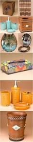 staggering bathroom accessories orange sets ideas western