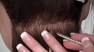 i tip hair extensions learn the i tip bead hair extenension method