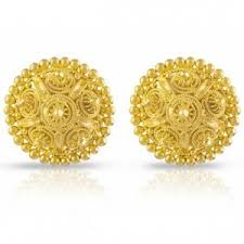 gold earrings tops earrings designer gold tops online shopping india igj creation