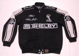 ford mustang jacket shelby mustang cobra ford racing embroidered black jacket jh