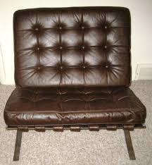 mid century leather chair mid century chrome chair ebay
