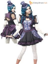 horror doll halloween costumes ladies twisted broken voodoo doll womens zombie halloween fancy