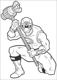 power ranger coloring pages free print coloringstar