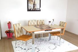 extendable kitchen table and chairs always star verve cream dining table and chairs extendable kitchen