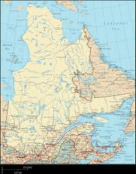 Map Of Canadian Provinces Quebec Map Map Of Quebec Quebec Province Map Quebec Road Map