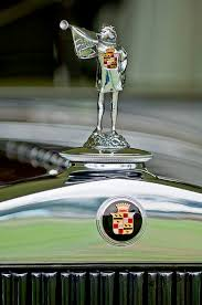 1929 cadillac 1183 dual cowl phaeton ornament by reger