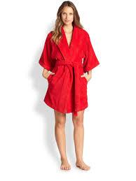 robe mari e fernandez terry robe in lyst
