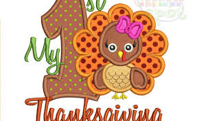 thanksgiving applique spot