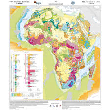 Map Of The Africa by Geological Map Of Africa At 10 Million Scale Ccgm Cgmw