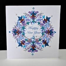 where to buy new year cards handmade new year cards decorque cards