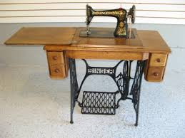 Singer Sewing Machine Cabinets by Early 1900s Singer Treadle Sewing Machine With 5 Drawer Oak
