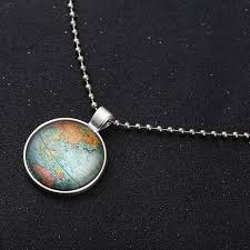 diy glass pendant necklace images Online shop vintage cabochon glass pendant necklace shellhard diy jpg
