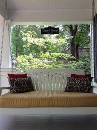 Back Porch Building Plans Hanging Porch Bed Swing Plans With Diy U2014 Jbeedesigns Outdoor
