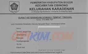 syarat membuat akte kelahiran gresik mudahnya membuat surat keterangan domisili di kelurahan opikini com