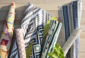 Blue And White Outdoor Rug Fab Habitat Estate Hand Woven Blue White Indoor Outdoor Area Rug