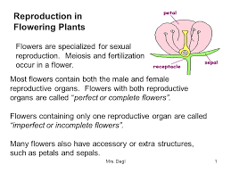 Reproduction In Flowering Plants - reproduction in flowering plants ppt download
