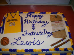birthday father u0027s day combo cake cakecentral com