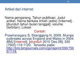 daftar pustaka merupakan format dari daftar pustaka standar ipb