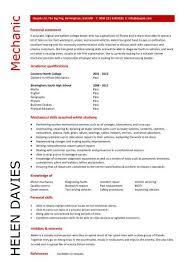 entry level resume template free mechanic resume template free printable auto mechanic or auto body