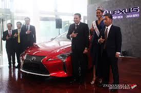 lexus car indonesia lexus lc 500 si u201cconcept car u201d yang resmi mengaspal di indonesia