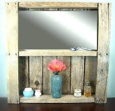 Bathroom Mirror And Shelf Bathroom Mirror With Shelf Juracka Info