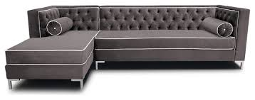 decenni decenni tobias 8 u0027 tufted sectional view in your room
