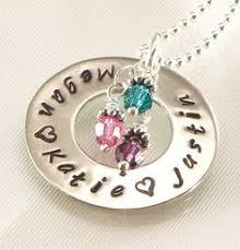 Children S Birthstone Necklace Birthstone Jewelry Mother Necklace Mom Jewelry Birthstone