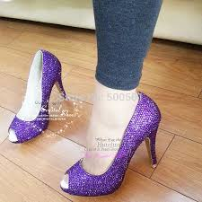 wedding shoes purple purple peep toe wedding shoes milanino info