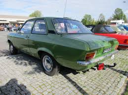 Car Show Outtakes 1974 Opel Ascona A And 1977 Opel Kadett C