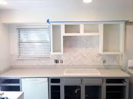 Best Kitchen Backsplash Images On Pinterest Kitchen Kitchen - Herringbone tile backsplash