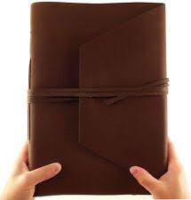 leather sketchbook blank diaries u0026 journals ebay