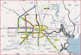traffic map houston where the congestion is the kuff