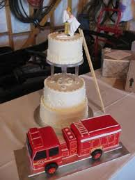 fireman wedding cake toppers truck wedding cake decorating ideas this was probably the