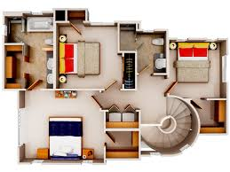Home Floor Plans Small 3d Floor Plan6 Small House Plans Pinterest Smallest House