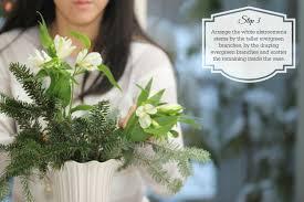 diy christmas arrangement js weddings and events
