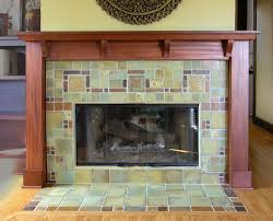 craftsman tile fireplace beautiful home design classy simple to