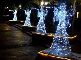 lighted angel christmas decoration 23 lighted outdoor christmas decorations ideas homes designs 112157