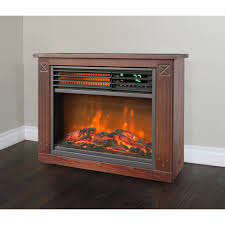 lifesmart infrared heater with flame effect walmart com