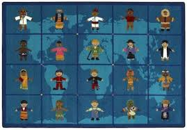 Kid Rug Reach Across The World Kid Rugs Learner Supply