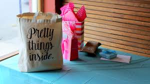 bridal shower gift bags state s bridal shower tea party gift ideas