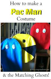 Pacman Halloween Costume Pacman Costume Matching Ghost Costumes Ghost