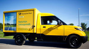 electric company truck deutsche post aims to double production of electric delivery van