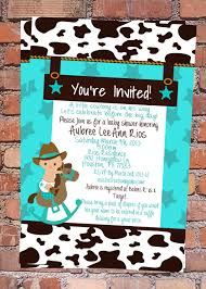 top 17 western baby shower invitations for you thewhipper com