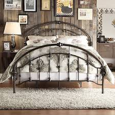 attractive inspiration wrought iron bed frame queen wrought iron
